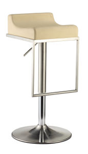 Height Adjustable PU Trumpet Bar Stool pictures & photos