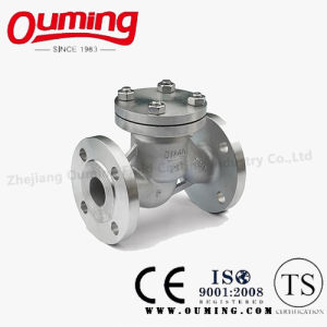 Stainless Steel Lift Type Flanged Check Valve pictures & photos