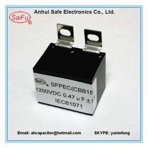 High Quality Cbb15 5UF 450VAC Film Run Capacitor pictures & photos