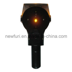 Solar Super Bright Yellow LED Barrier Warning Lights pictures & photos