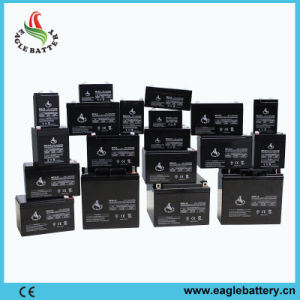 12V 2.6ah VRLA Rechargeable Lead Acid Battery for Alarm System pictures & photos