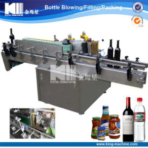 Automatic Paste Labeling Machine / Sticker Machine for Wine Bottle pictures & photos
