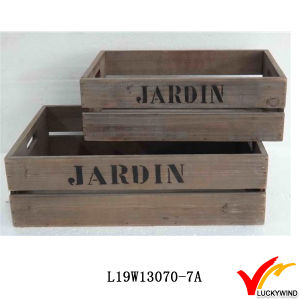 Farm Style Vintage Recycle Wood Fruit Crate pictures & photos
