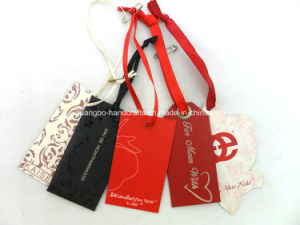 Garment Accessories Paper Tag Label Printing Custom Hang Tag pictures & photos