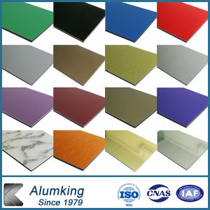 Colorful Coating Fireproof PVDF Coating ACP pictures & photos
