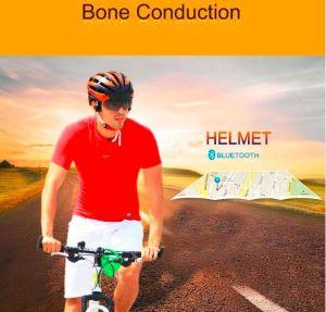Newest Bone Conduction Intelligent Helmet Smart Helmet with Bluetooth Earphones and Glasses
