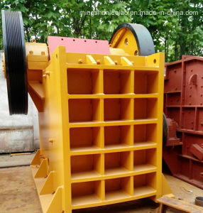 High Efficiency Jaw Crusher of Limestone