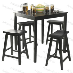 Wooden Kitchen Bar Dining Table with Stool (JP-T-014)