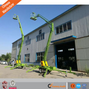 6-18m Cleaning Equipment High Quality Articulated Towable Boom Lift pictures & photos