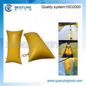 Rock and Stone Block Inflatable Push Bags for Mining pictures & photos