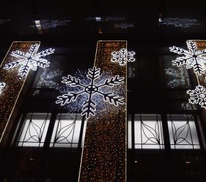 LED Christmas Decorating Large Motif Snowflakes Themed Lighting pictures & photos
