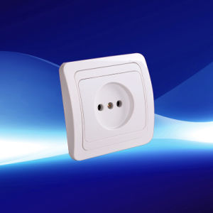 1 Gang Wall Socket European Style (YW8005)