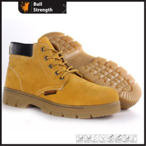 Leather Safety Boots with Rubber Sole (SN5409) pictures & photos