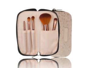 Synthetic Hair Makeup Tool Cosmetic Brush with Zipper Pouch pictures & photos