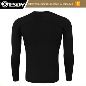 Black Star Tactical Training Sport Long-Sleeved Thermal Underwear pictures & photos