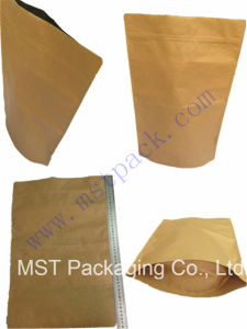 Kraft Paper Bag/Stand up Bag/Zipper Locked Plasitc Bag pictures & photos