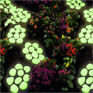 Artificial Glitter Stone in The Dark for Decoration Garden pictures & photos