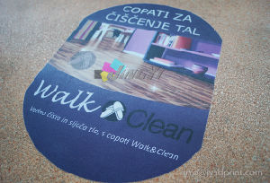 Custom Print Advertising Display Floor Decal Sticker (anti-skidding surface) pictures & photos