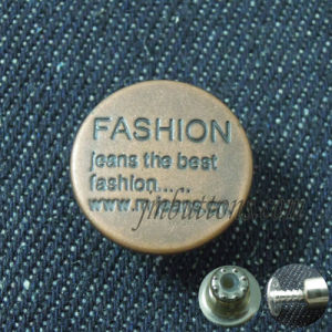 Jeans Jacket Metal Custom Brand Buttons for Coats pictures & photos