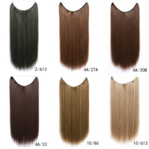 China one piece fish line hair extension women flip in hair one piece fish line hair extension women flip in hair extensions 15 colors 18 pmusecretfo Images