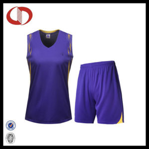 Custom Made Design Basketball Jersey Quick Dry pictures & photos