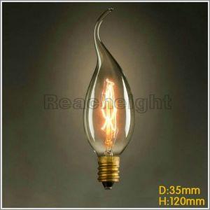 Fg C35L 25W/40W/60W 110V 220V Marconi Style Light Bulb Vintage Edison pictures & photos