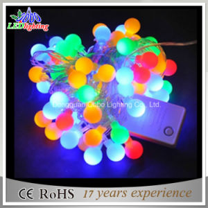 Color Changing Outdoor LED Christmas Lights with Ball pictures & photos