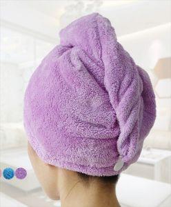 Hair Twist Towel, Hair Drying Towel Cap. Microfiber Hair Twist pictures & photos
