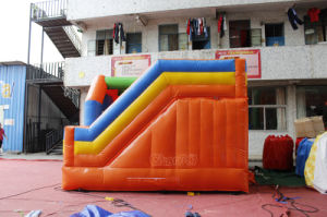 PVC Commercial Jumping Castle Inflatable Bouncer Combo Slide Chb715 pictures & photos