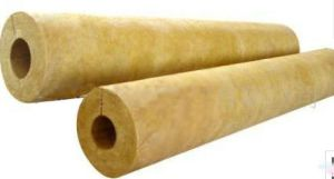 Bonded Rock Wool Pipr Section /Rockwool Pipe Insulation pictures & photos