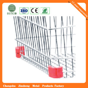 High Quality Market Metal Supermarket Trolley pictures & photos