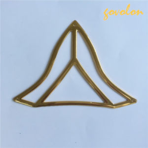 New Triangle Alloy Neckline for Decoration pictures & photos