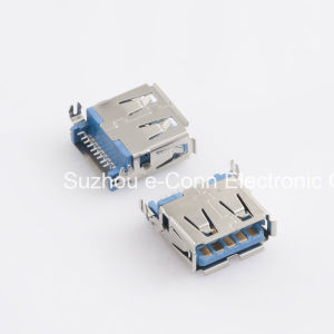 USB 3.0 Type ′a′, SMT, Receptacle, Usbx-A9fx-Xxm0-05 pictures & photos