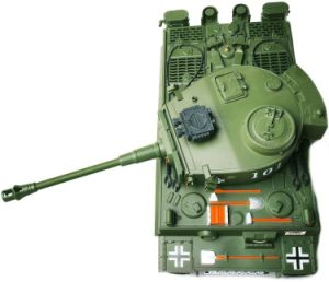 575012-1: 20 Scale RC Simulating Battle Tank pictures & photos