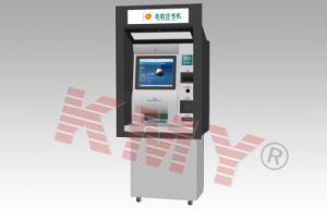 Customized Functional Payment Terminal Through Wall Self Service Ticket Touch Screen Kiosk pictures & photos