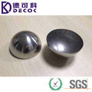 19mm 304 316 Large Mirror Hollow Stainless Steel Half Sphere pictures & photos
