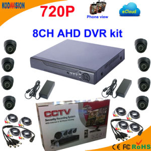 8 Channel Ahd DVR Kit with 720p Dome Camera pictures & photos