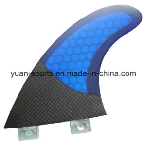High Quality Honeycomb Glassfiber Fcs Surfboard Fin pictures & photos