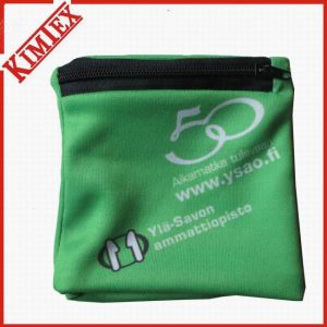 Promotional Polyester Printing Wallet Pocket Wristband pictures & photos