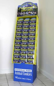 Wholesale Printed Cardboard Promotional Flooring Counter Display Box 20 pictures & photos