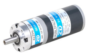 ZD 90W DC Brush Transmission Planetary Gear Motor pictures & photos