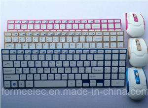 Wireless Mouse Keyboard Computer Laptop Keyboard with Aluminum Alloy pictures & photos