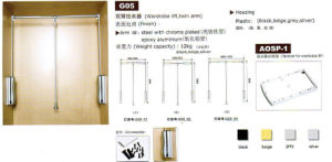 G05 Twin Arm Wardrobe Lift pictures & photos