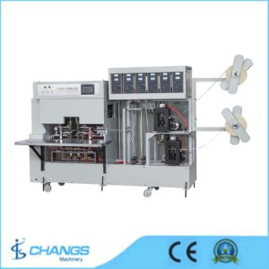 Kd-700d Double Line Non Woven Handle Making Machine pictures & photos