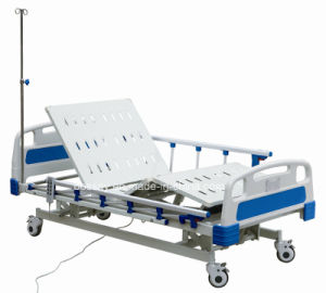 Three Function Hospital Bed pictures & photos