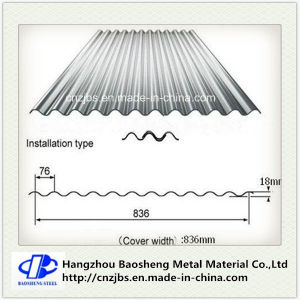 Corrugated Galvanized Steel Roofing Sheet Steel Plate pictures & photos