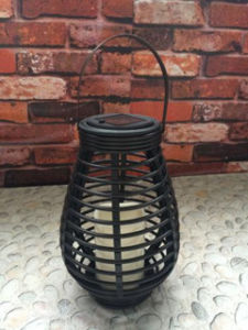 Solar LED Rattan Basket Outdoor Light pictures & photos