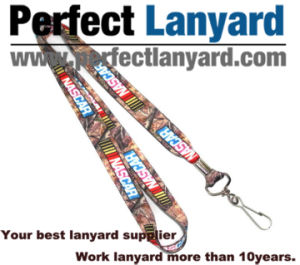 Digital Printing Lanyard with Rotatable Hook pictures & photos