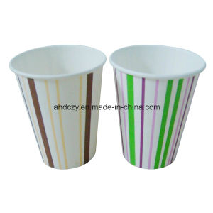 Wholesale Flexographic Printing Custom Single Walled Full Colour Paper Cups pictures & photos