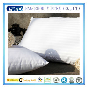 Factory Price White Goose Down and Feather Bed Pillow pictures & photos